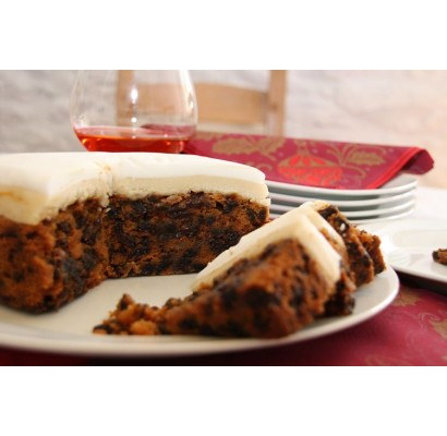 Christmas Cake from The Carved Angel