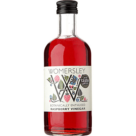 Raspberry and other Fruit Vinegars from Womersley