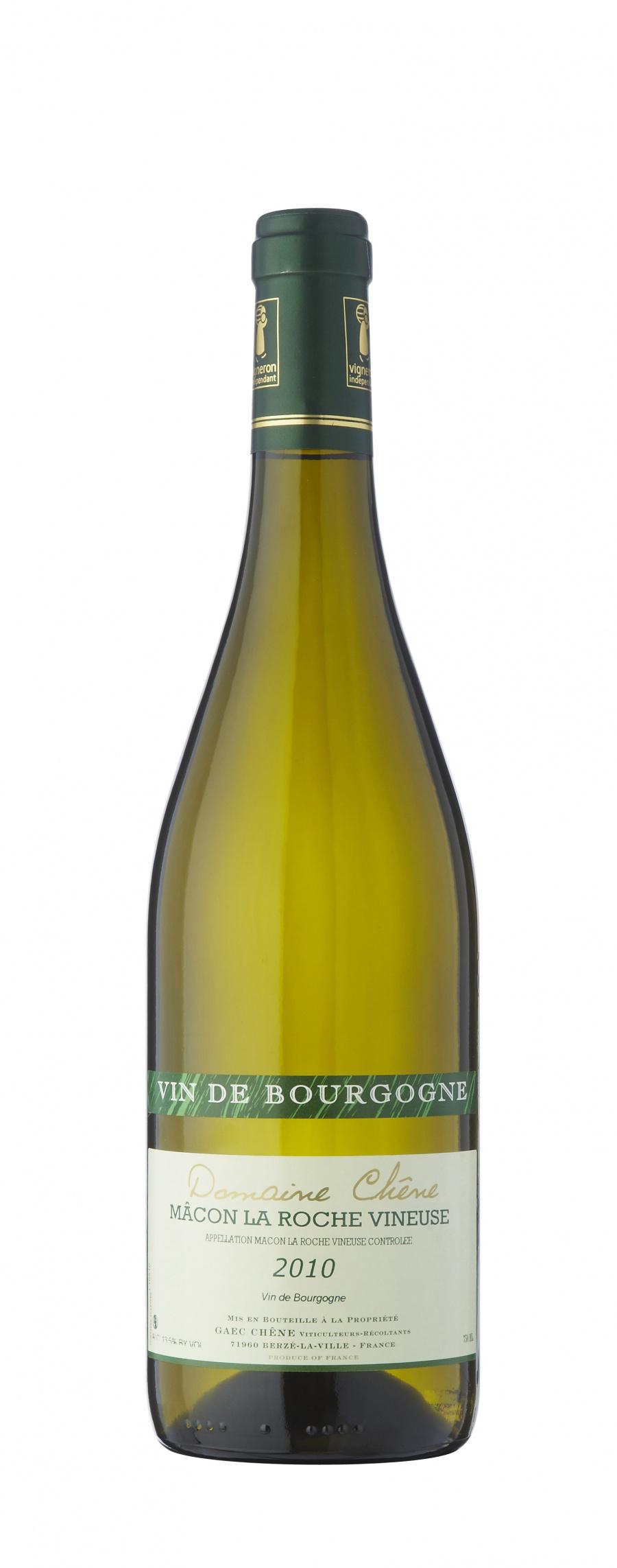 Summer wines at Relish: Mâcon La Roche Vineuse, Domaine Chêne, Cuvée Prestige