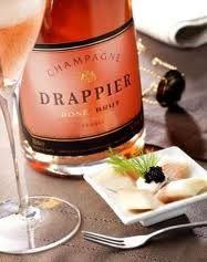 Half bottles of Drappier Champagne