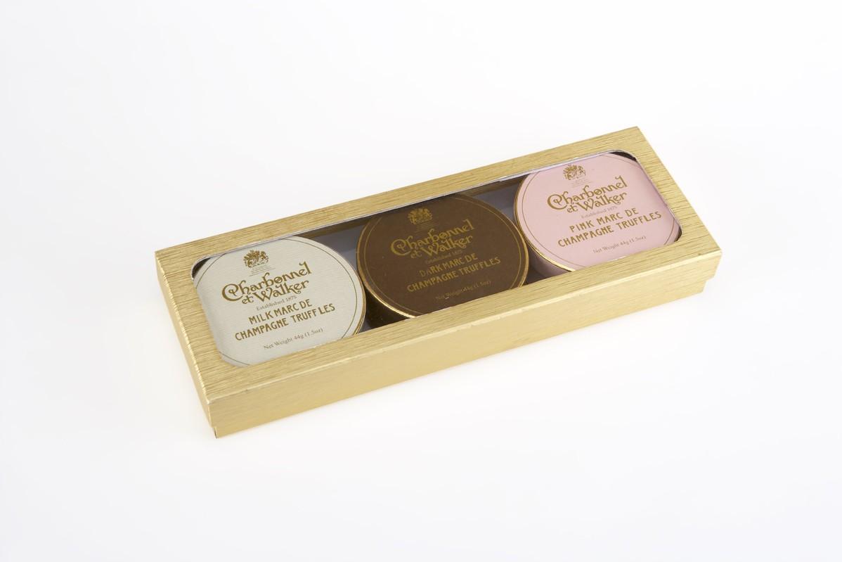 Charbonnel et Walker Marc de Champagne Truffle Gift Box