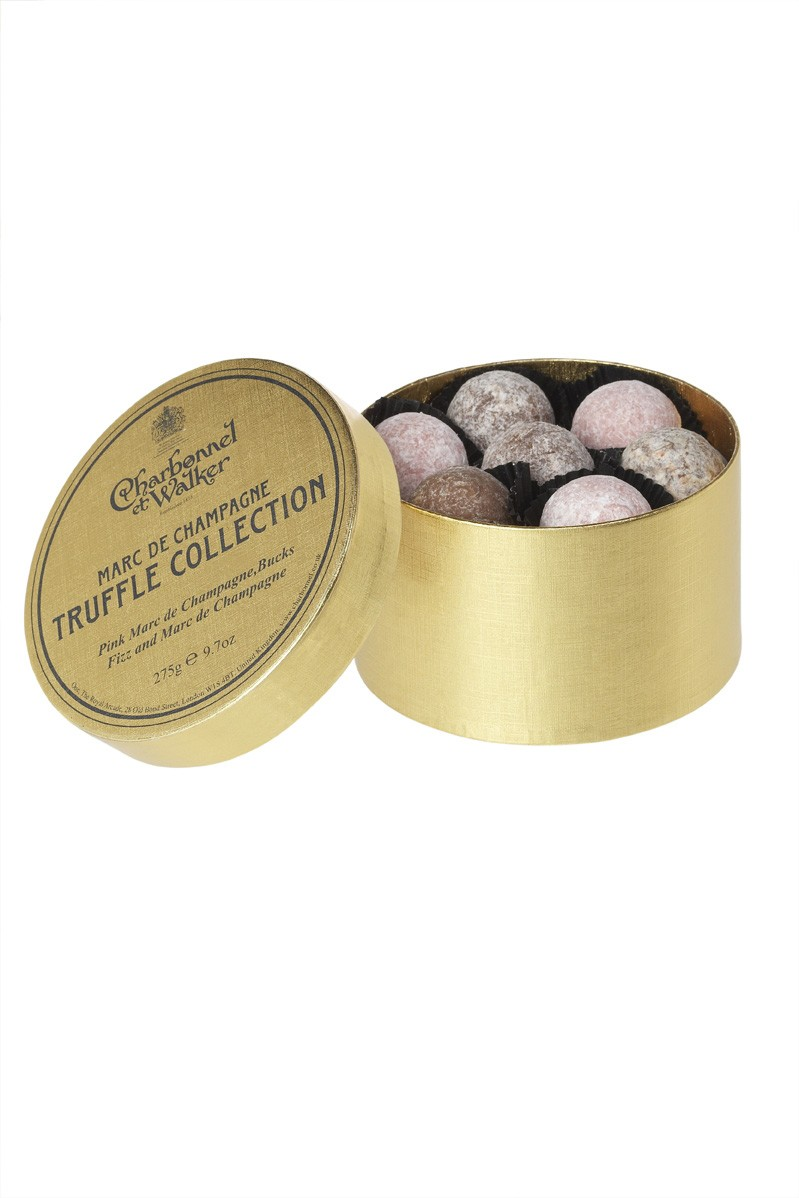 Marc de Champagne Truffle Collection from Charbonnel et Walker