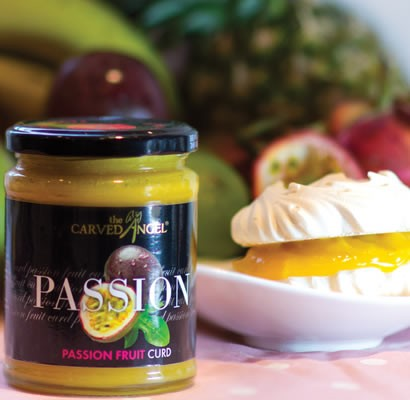 Passion Fruit Curd from The Carved Angel