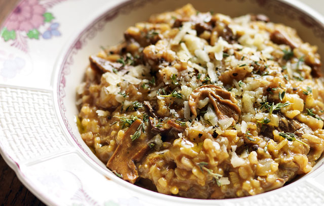RELISH DELI RECIPES No 15: Porcini mushroom risotto