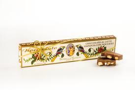 Cioccolato al Latte Gianduia con Nocciole