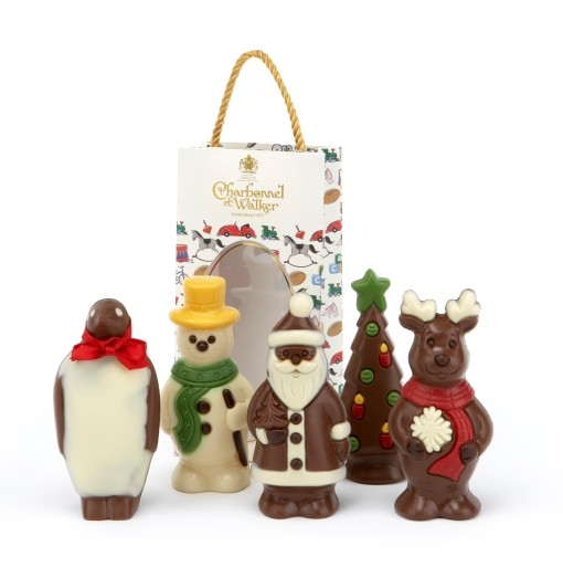 Charbonnel et Walker Chocolate Christmas Figurines