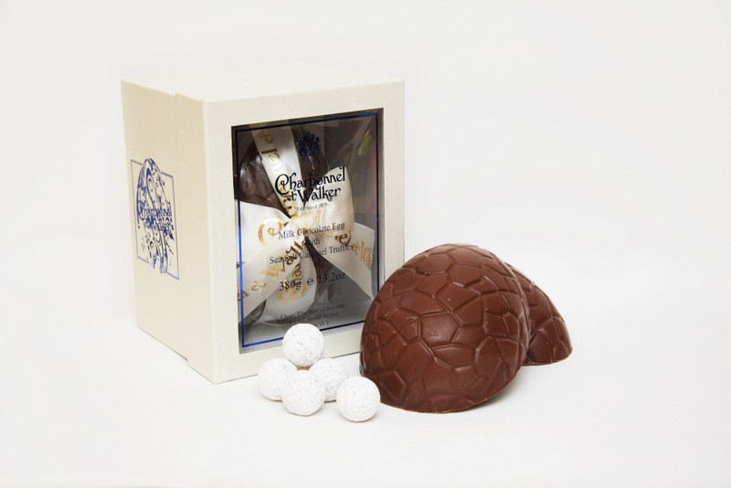 Sea Salt Caramel Truffle Milk Chocolate Eggs by Charbonnel et Walker
