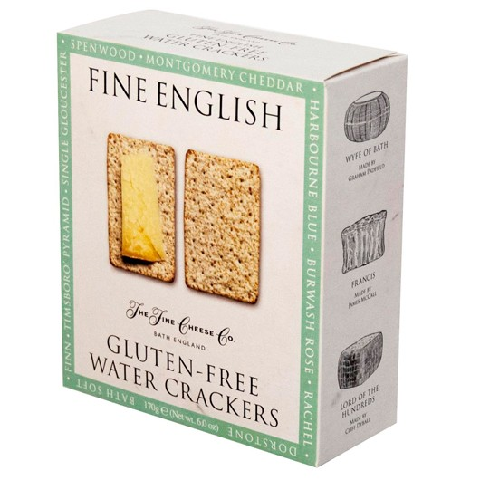 Gluten-Free Water Crackers from The Fine Cheese Co