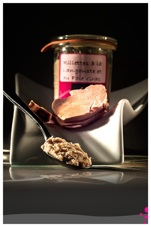 Rillettes Gastronomiques: Langouste et Foie Gras