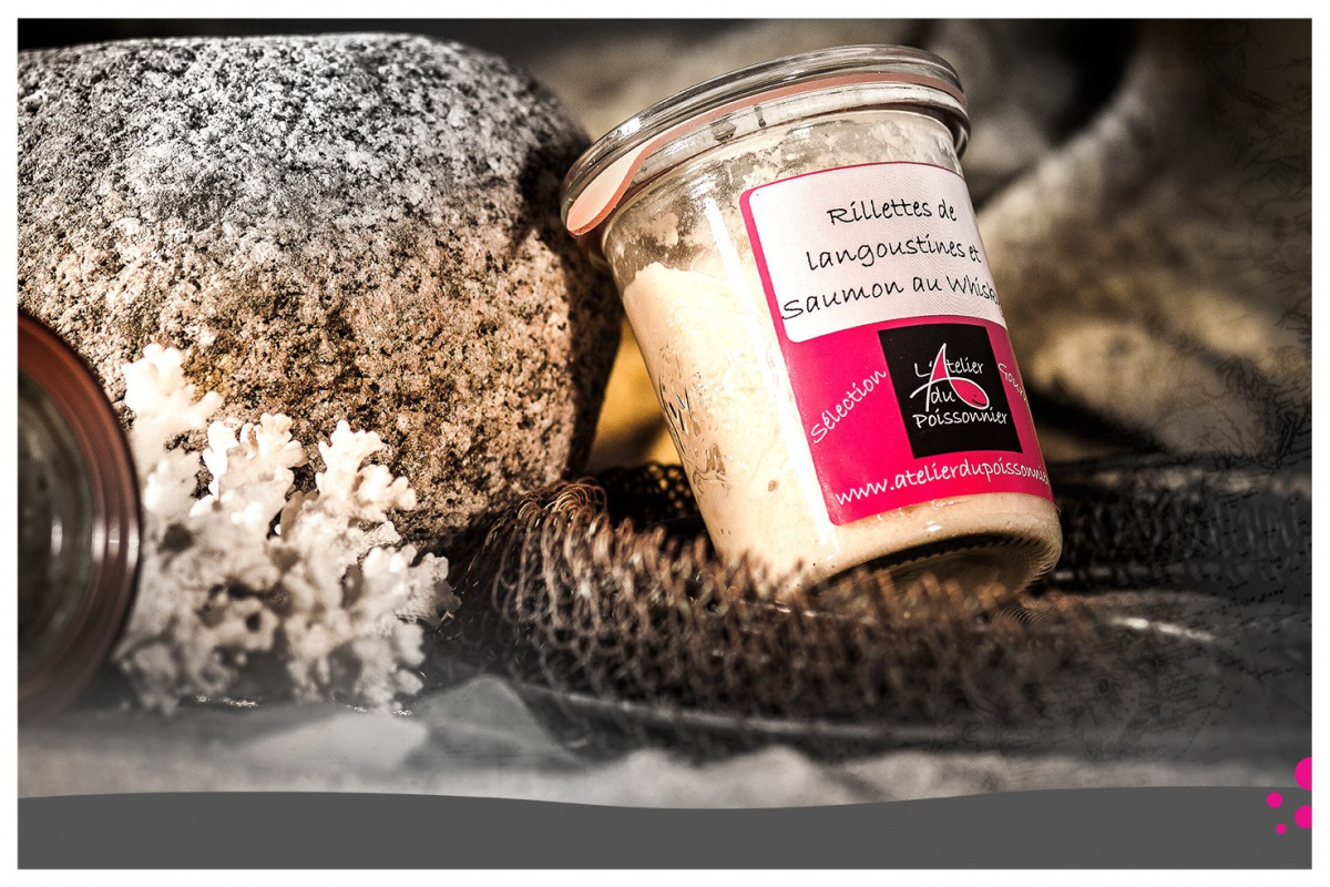 Rillettes Gastronomiques: Saumon et Langoustines au Whisky