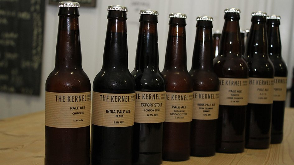 Award-winning beers from The Kernel Brewery