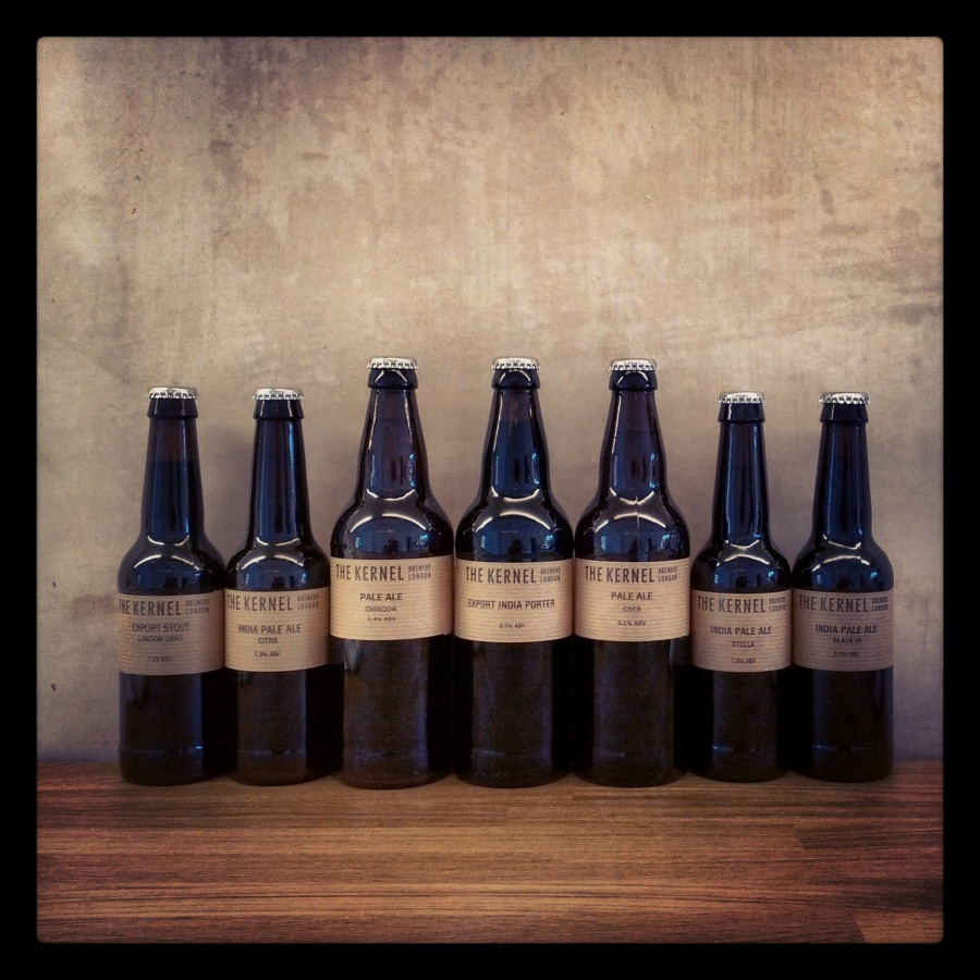 ARTISAN BEERS FROM THE KERNEL BREWERY
