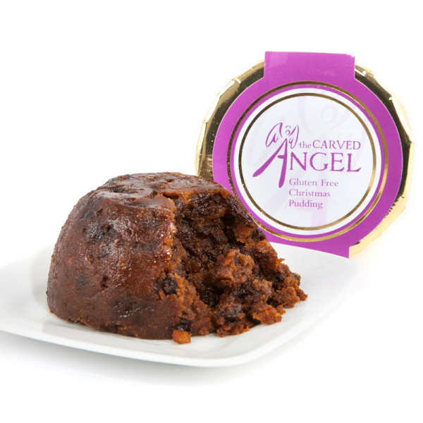 GLUTEN FREE CHRISTMAS PUDDING FROM THE CARVED ANGEL