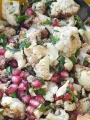 Salad Cauliflower Pomegranate